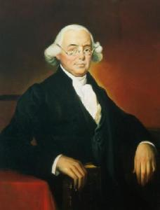 Though a firm advocate for independence, James Wilson didn't cast his vote until he was given the go ahead by his constituents. Also had his home besieged by a drunken mob in 1779, an event known as the Fort Wilson Riot. He was also a prominent legal theorist who was quite active in the Constitutional Convention and later became a Supreme Court Justice. Unfortunately, he's barely remembered today.
