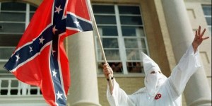 For over a century, the Confederate Flag has has stood for the idea that African Americans are less-than-equal members of the political community and that using any illegal violence against their interest is justified and that it's noble to fight and die for the purpose of enslaving black people even if it means betraying the country. White supremacist organizations like the Klu Klux Klan have been known to use these flags as their symbols. Since it has inspired acts of violence such as lynchings and terrorism toward African Americans, its use is no accident. Still, if the Confederate Flag isn't a symbol of hate and violence, then I don't know what is.