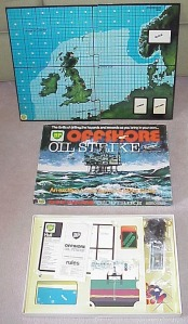 In 1973, BP sponsored this promotional board game to preach the blessings of offshore oil drilling. Of course, decades later this would come back to bite them with the 2010 Deepwater Horizon Explosion and Oil Spill.  Greasy and polluted fun for the whole family.