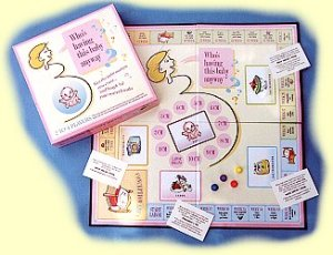 Now while there are a lot of things about pregnancy which people might find joyful and memorable, doesn't mean there should be a board game on it. Seriously, if you're pregnant, read a book about it and consult your doctor. Your friends will thank you for sparing them all the disgusting stuff.