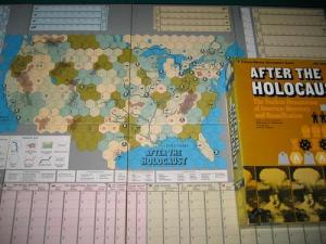 The kind of board game in which players try to survive after a thermonuclear war between the US and the Soviet Union. Said to be unwinnable and not the kind of post-apocalyptic fun for the whole family.