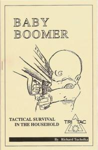 Baby Boomer is the kind of game in which you play either the parents or a cop trying to get an automatic weapon from a toddler's hands before   someone gets killed. On the bright side, it's actually a very effective and convincing argument for gun control.