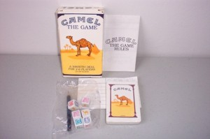 Though it's not uncommon for some games to be promotional products, this is perhaps one of the most disturbing examples. Seriously, it was issued by R. J. Reynolds a tobacco company which had 200,000 of these. You can guess their intentions from there.