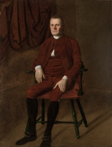 """Roger Sherman is often described as a """"terse, ineloquent speaker leaving few memorable quotes."""" But Thomas Jefferson would reply, """"That is Mr. Sherman, of Connecticut, a man who never said a foolish thing in his life."""" Still, he's the reason why Connecticut is known as """"the Constitution State"""" because he came up with the Connecticut Compromise. This Ralph Earl portrait of him is said to be """"one of the most striking portraits of the age."""""""
