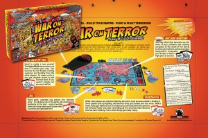 Liberate the world and eliminate terrorism forever as a major empire in this War on Terror board game. Of course, this may mean  dominating oil fields and recruiting terrorists, however.