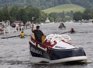 Now I'm sure we all wear sneakers. But how many of us have a sneaker boat? I'm sure there could only be one.