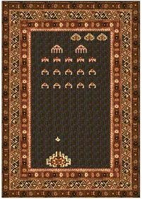 Man, seems like some rug makers tend to have a lot of Atari nostalgia. Still, looks quite ornate for one commemorating a video game.