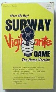 In the 1970s, this was one of the ways you can live your life as a vigilante action hero on the morning commute. Of course, in real life, vigilante violence leads to collateral damage, jail time, and everyone hating you.
