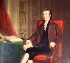 Though he signed the Declaration of Independence, Thomas Stone was initially a pacifist who would favor reconciliation with Britain than start a gruesome war. However, while working on the committee that formed the Articles of Confederation, his wife fell ill with smallpox while visiting him during a smallpox epidemic. He later gave up public life to take care of his wife and kids. It's said he died of a broken heart over what followed.