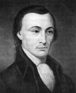 Matthew Thornton was an Irish born physician who was head of the 5 man committee that drafted the New Hampshire state constitution, the first of such in the US adopted since the Revolutionary War. Also operated a ferry and spent his retirement writing political articles for newspapers.