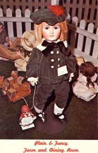 With that pale mouth and the soulless eyes, I'm sure this doll is bound to give Chucky a run for his money. Seriously, if he had his way, he could kill you in your sleep or nightmares.