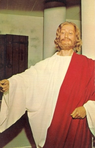 """I don't know about you but this Jesus seems like he's been passing a sacred joint to his disciples and saying, """"Take this, all of you and smoke it. This is, uh, never mind. But don't Bogart it and that means you, Judas Iscariot."""" Yes, this is the closest thing we have to a Stoner Jesus."""