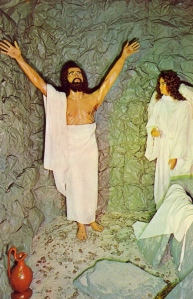 "Looks like somebody took a big bite out of Jesus's armpit. Angel's like, ""Dude, can I borrow five bucks?"""
