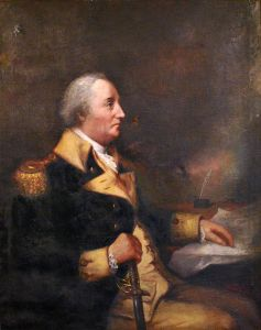 After spending his late teenage years and young adulthood at sea, William Whipple settled down in Portsmouth where he went into the merchant business and married his cousin. Was also a Revolutionary War general who fought at Saratoga.