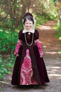 Now I'm sure this dress didn't come cheap in the very least. But I'm sure this girl thinks that she's a perfect little princess in it. Or queen.