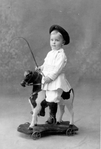Some of you may not know who he is. But this little boy would go on to write The Great Gatsby, a book a lot of teenagers are required to read in high school. He was also a drunk and had a crazy wife.