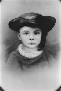 Can't believe this little boy in the ruffle and funny hat would grow up to become one of the most influential innovators in history. I mean he came up with the auto assembly line with the Model T and established the Ford Motor Company. Also was a noted anti-Semite though.