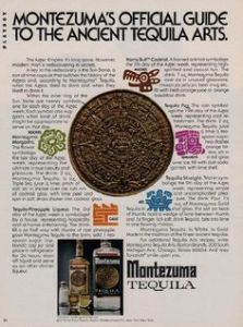 You mean that what archaeologists said was an Aztec calendar was actually a bunch of tequila cocktail recipes? Wonder how they could miss that. Hey, wait a second, this is just an ad for tequila.