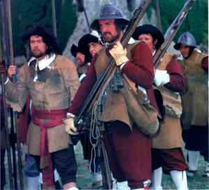 Oh, wait, those are pre-American Civil War weapons even if they're working models. Let's just say, these guns aren't very practical as weapons anyway. You can say the same for most Renaissance firearms.