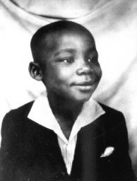 I'm sure this little boy has a dream, but you won't hear of it until 1963 during the March on Washington. Still, the future civil rights leader is quite adorable in this photo.
