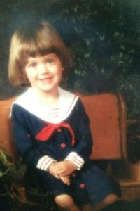 Yes, she's simply adorable in her little sailor dress and cute haircut. However, you wouldn't say the same if she was wearing a similar outfit when she got older. You know how the press talks about the way she dresses in her music videos.