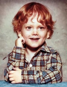 Never expected Eminem to be a ginger. Of course, I never thought I'd see a picture of him wearing plaid either. Still, he had a pretty crappy childhood though.