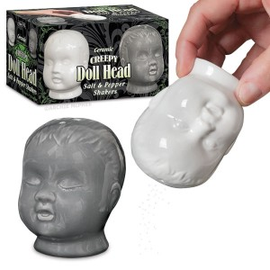 Okay, now there's no way in hell I think anyone should put these on their table. Seriously, they're going to make your guests think that there's something wrong with you. Like you're Hannibal Lecter.