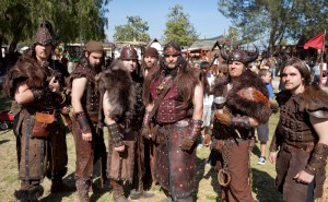 Unlike real Vikings, they're not looking for a monastery to raid or a warrior death to get to Valhalla. They just want to party.