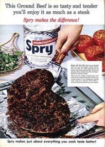 Is it just me, or does this Spry Ground Beef seem a little charred to you? On second thought, I'd rather take the steak. Might be a bit expensive, but at least I won't eat ashes. Well, when it's cooked medium rare, anyway.