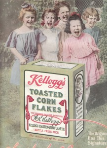Don't be fooled. You might think they're screaming for Kellogg's Toasted Cornflakes. But what they're really screaming for is your immortal soul. Yes, they want your delicious immortal soul. They'll also settle for your body, too.
