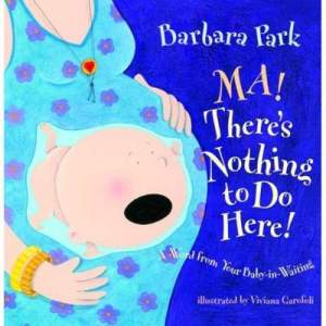 Yes, I know childbirth and pregnancy can be disgusting. But still, I'm sure this woman should opt for a c-section since the baby has such an over-sized head. Also, maybe it's best to leave the childbirth out of kiddie books. Just for the sake of not having covers like this.