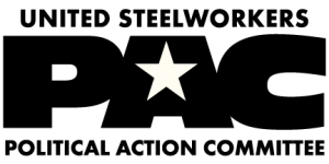This is the United Steelworkers PAC which is an example of a connected PAC. These are sponsored by corporations and unions. These can only raise money from a