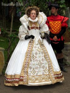 Of course, she may be a fair queen, you really don't want to mess with her. Believe me, so many during her 44 year reign learned the hard way such as the Earl of Essex and Mary, Queen of Scots.