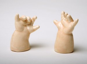 As if baby head salt and pepper shakers weren't disturbing enough. Granted they were derived from doll parts, but still.