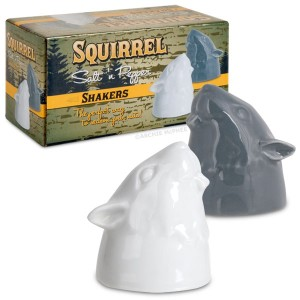 Now I'm sure squirrel shakers might look cute if they consisted of the whole animal. However, these only consist of their heads which is kind of terrifying.