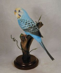 Actually there's no such thing as a Norwegian Blue because parrots are tropical animals. Still, this blue parrot is quite pretty if I do say so myself.