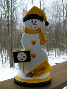 Now this is quite adorable. Of course, it can't hold a football and Terrible Towel. However, still manages to show its spirit.