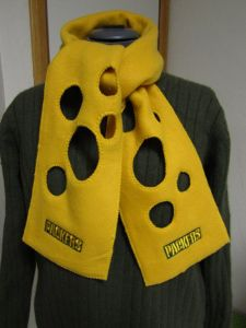 Now this is quite clever. After all, Packers are called Cheeseheads for a reason. It was only a matter of time before they'd come up with this.