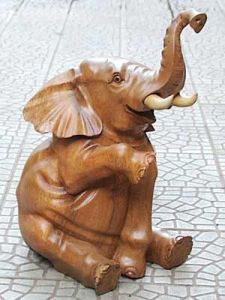 Let's hope the tusks on this one aren't made from real ivory. Because that would be bad. Very bad, indeed.