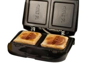 Now I suppose that whoever buys this would be willing to buy a generic kitchen item to show that they're more of a fan than you. I mean nobody needs a NFL team logo on their grilled cheese sandwich.