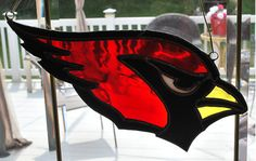 Now I'm sure this would be great to show support for your team as well as wreak rival fans with glare. And yes, that's a big cardinal.
