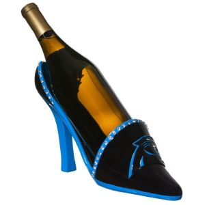 Now I featured the high heel bottle holder in an earlier post as a bad Mother's Day gift. Make it NFL themed and it achieves a whole new level of tackiness. Why the NFL sells these, I have no idea.
