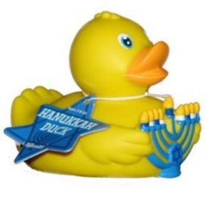 Well, I did show a rubber ducky nativity scene in 2013. So it's only fair that I try to be inclusive.