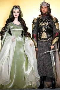 You wouldn't know it, but these two have a very huge age difference between them. I mean she's like around 2800 years old. And he's considerably younger. Then again, age may just be a number on Middle Earth.