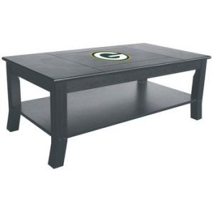 This will probably be a good addition to anyone's man cave or bachelor pad living room. Then again, if you want a team coffee table, you could just put team decals on it and take them off whenever you want. It's also much cheaper.