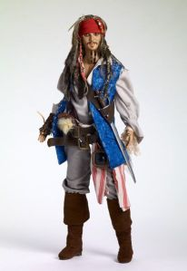 Now that's almost a dead ringer to the famous Johnny Depp character himself. Hope he doesn't run into zombie pirates. Wish he had his hat though.