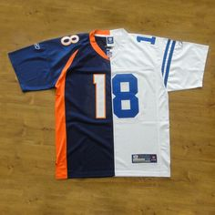 If you like Peyton Manning but aren't sure whether to wear his jersey from the Colts or the Broncos, this solves your problems. I mean why choose when you could have both?