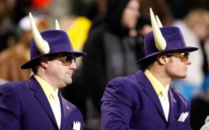 Because the fact they're in purple suits with horned hats and yellow shirts kind of indicated that to me. Still, I'd watch it with those hats. Don't want to poke anyone's eye out.