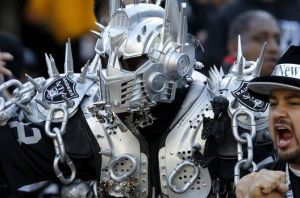 Yes, he might be a fearsome cyborg employed by some maniacal supervillain. But even he needs a break so he can go to see the Oakland Raiders once in a while.