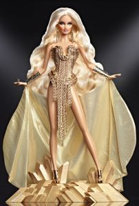 Now this reminds me of something Lady Gaga would wear if she was doing the theme from Goldfinger. Of course, that would look uncomfortable on a normal person.